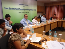 Consultation on India Food Security Portal