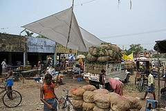 Wholesale Market, Patna, Bihar. Source- Flickr, Bart Minten/IFPRI