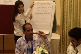 M&E workshop in New Delhi